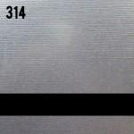 Сатиновое серебро / черный (ROWMARK 314)